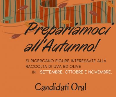 Prepariamoci all'Autunno